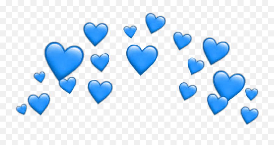 Heart Hearts Heartcrown Crown Filter - Heart Emoji Transparent Background