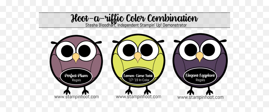 2017 - 2019 InColors Archives  Stampinu0027 Hoot  Color Scheme Emoji