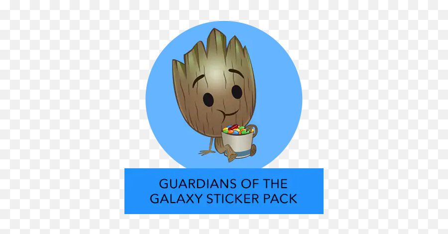 Disney Stickers - Cartoon Emoji,Groot Emoji