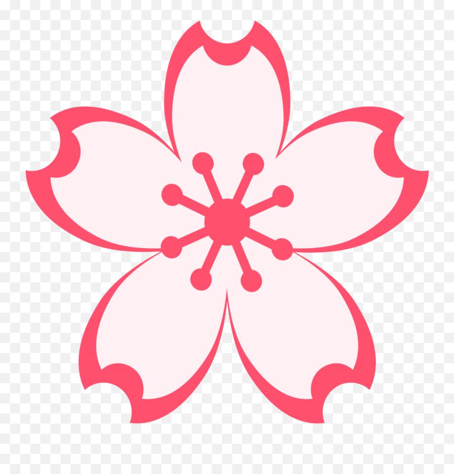 Emojione 1f338 - Sakura Flower Png Vector Emoji,Joy Emoji