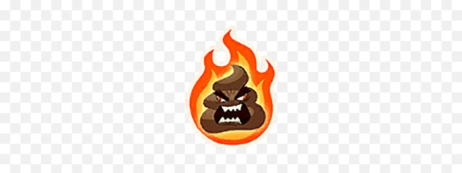 Flaming Rage - Emblem Emoji