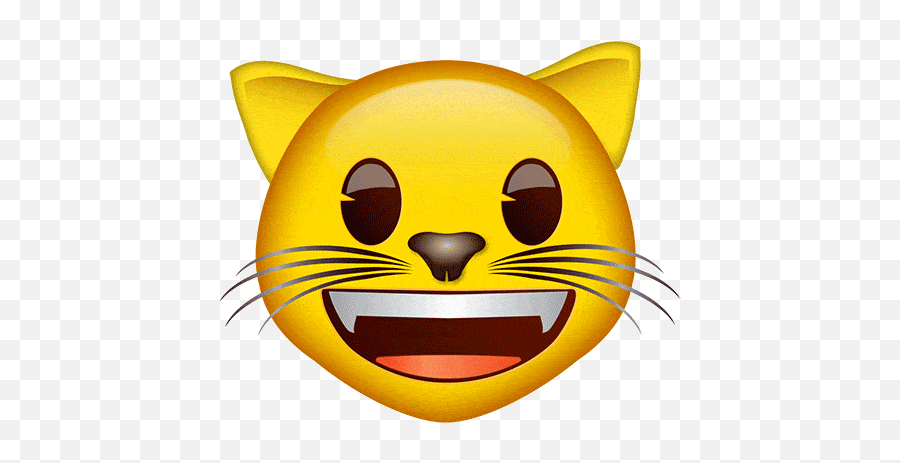 Emoji - Heart Eyes Cat Emoji Gif,Cat Emoji