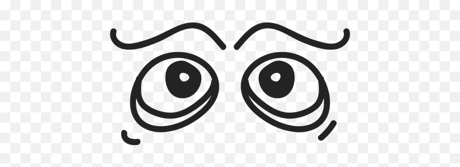 Comic Emoticon Eyes - Transparent Png U0026 Svg Vector File Comic Eyes Transparent Png Emoji,Open Eye Crying Laughing Emoji