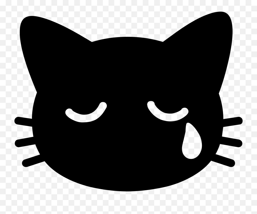 Android Emoji 1f63f - Transparent Png Cat Emojis,Cat Emoji