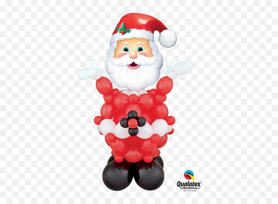 Christmas U2013 Funtastic Balloon Creations - Qualatex Emoji,Santa Clause Emoji