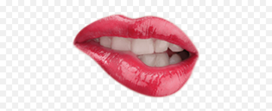 lips mouth pink bite dressup costume Emoji