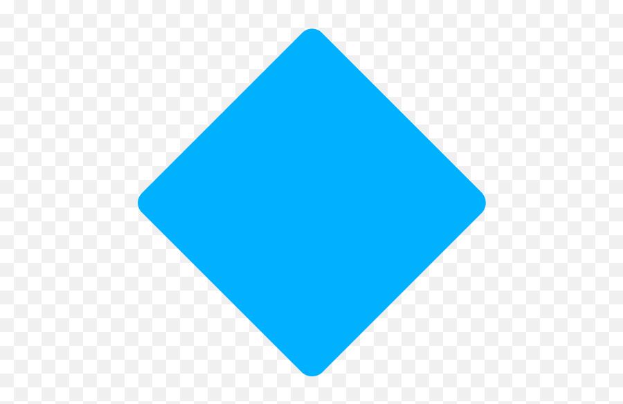 Fxemoji U1f537 - Blue Diamond Shape Png