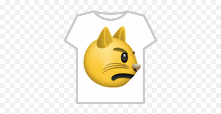 Brave Cat Emoji - T Shirt Roblox Bts,Cat Emoji
