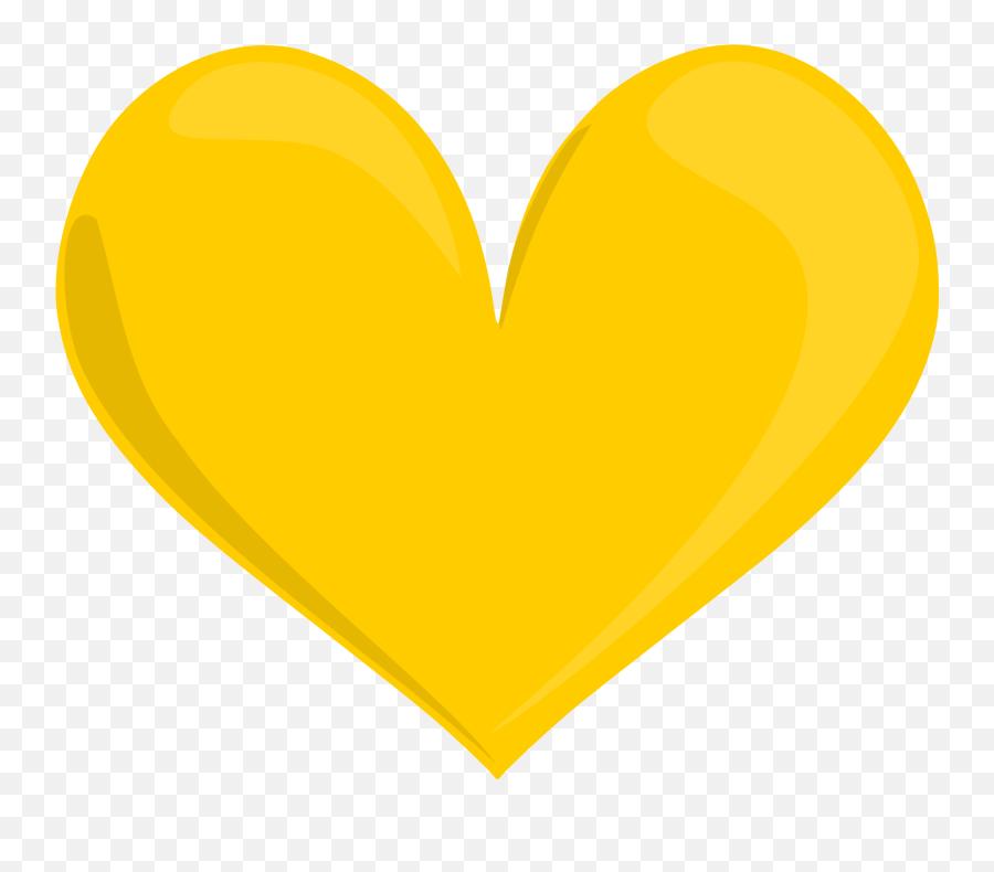 Orange Orangehearts Hearts Heartcrown Crown Heart Orange - Transparent  Background Yellow Heart Clipart Emoji - free transparent emoji -  emojipng.com