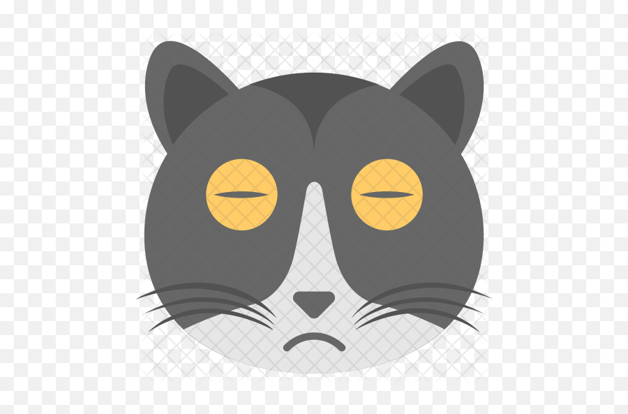 Cat Emoji Icon - Cartoon,Cat Emoji