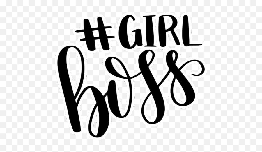 Girlboss Calligraphy Vsco Spiral Emoji Emojibackground - Calligraphy,Spiral Emoji