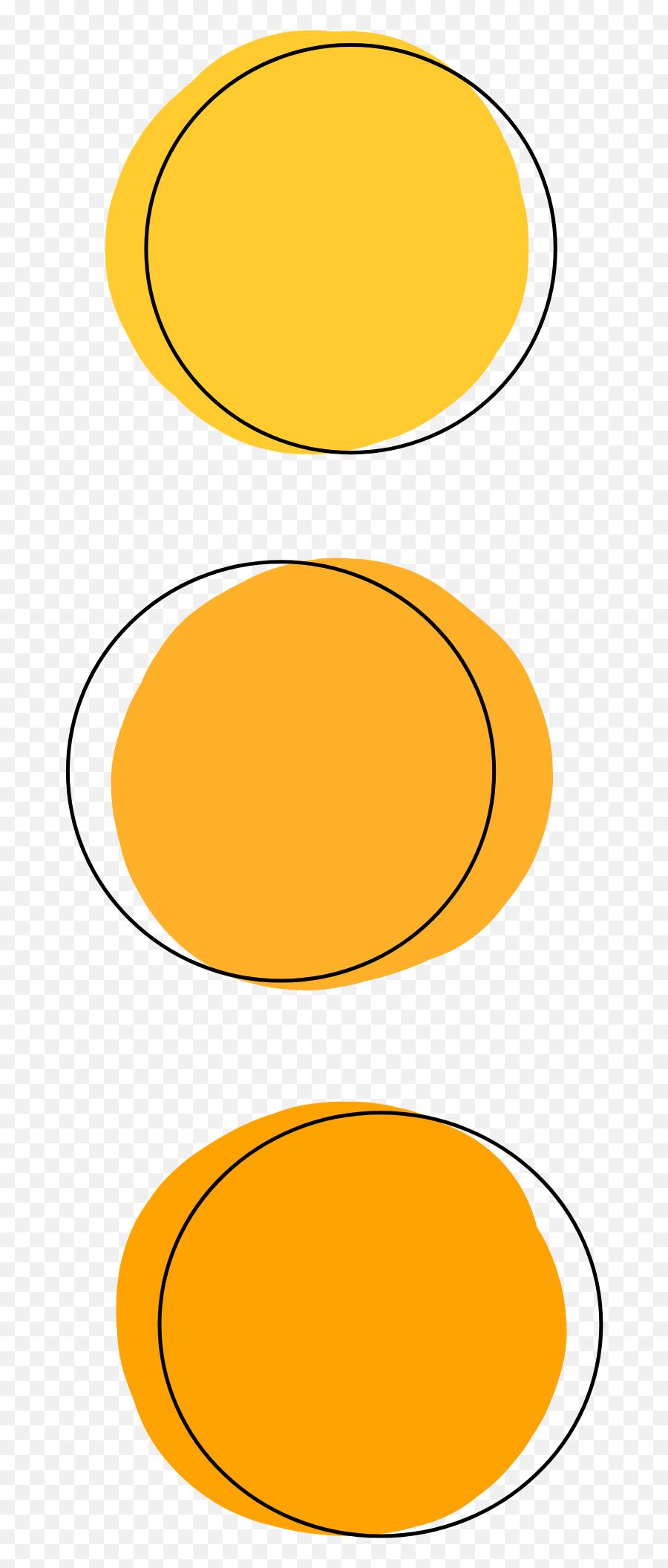 Orange Yellow Circle Circles Sticker Yellow Aesthetic Stickers Circle Emoji Yellow Circle Emoji Free Transparent Emoji Emojipng Com
