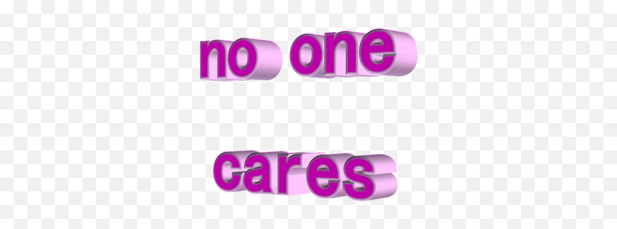 Gif Funny Stickers For Android Ios - No One Cares Transparent Emoji