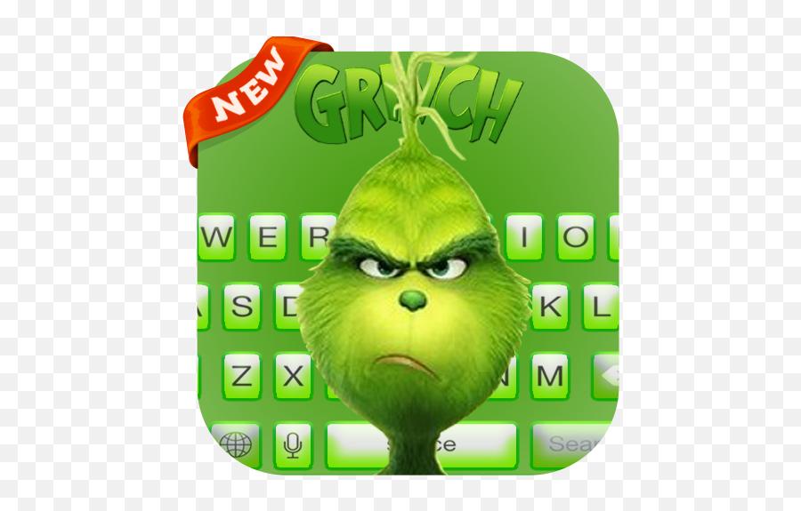 Grinch Keyboard New 2019 - Cartoon Emoji,Grinch Emoticon