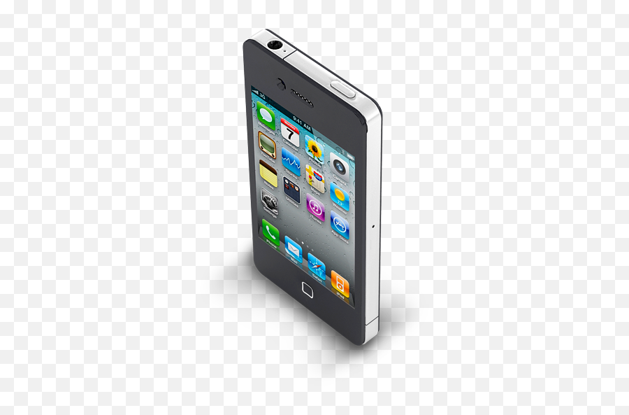 Iphone 4 Black Icon Apple Mobile Iconset Archigraphs - Iphone 5 Emoji,Iphone Emoji Commercial