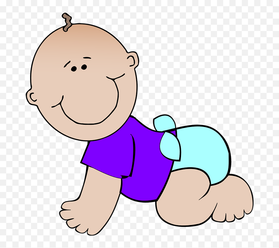 Free Innocence Baby Illustrations - Baby Diapers Clipart Emoji,Open Eye Crying Laughing Emoji