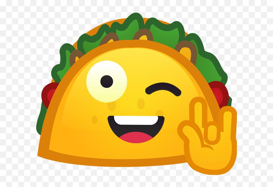 Download Happy Taco Discord Emoji - Discord Emoji