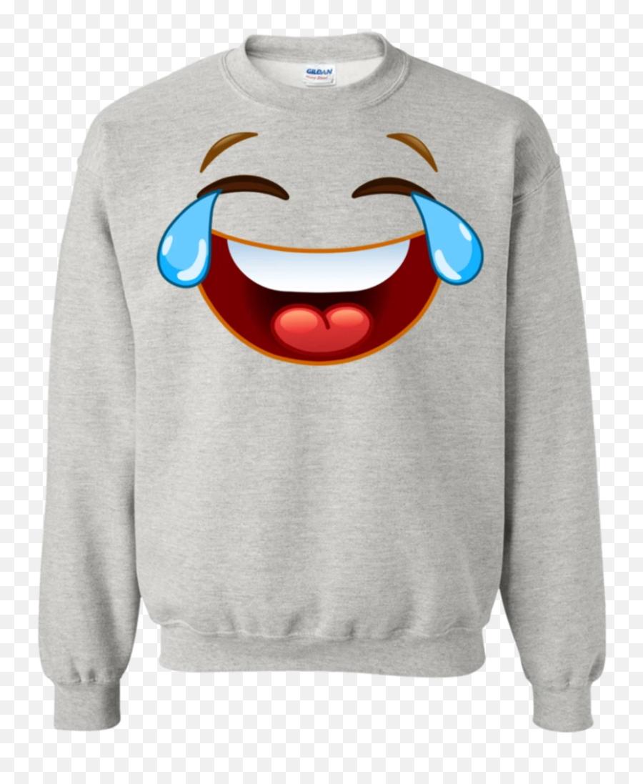 Laughing Crying Tears Of Joy Emoji Hoodiesweatshirt - Charlie Don T Surf Snoopy,Crying Tear Emoji