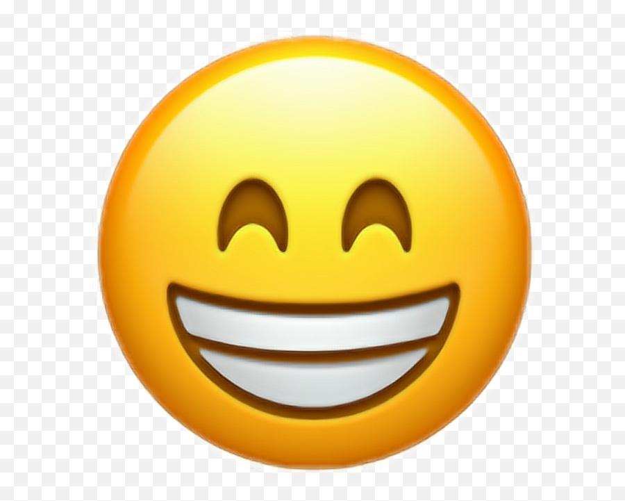 Smile Funny Fun Emoji Iphone Iphonex - Happy Emoji Transparent Background