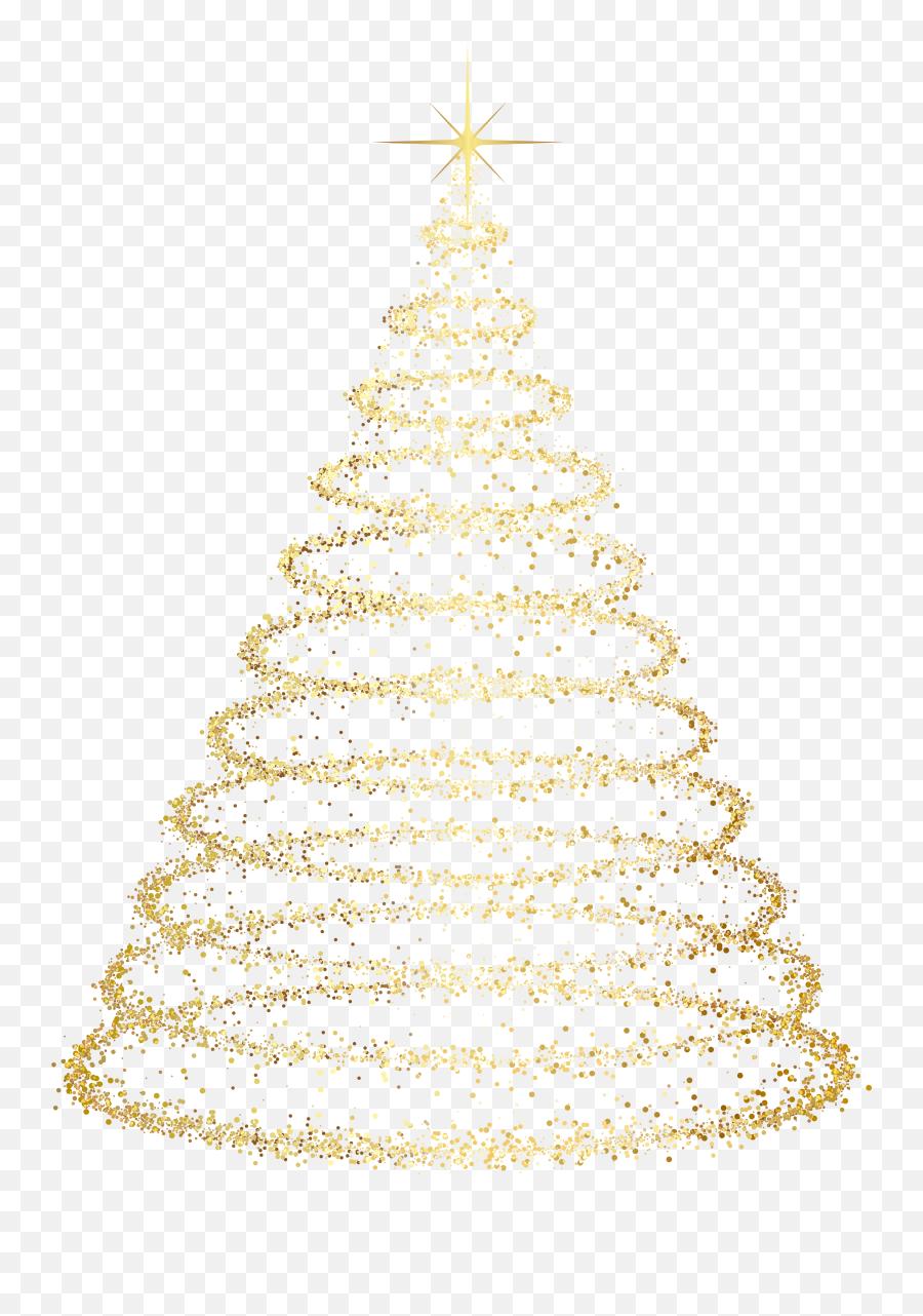 Deco Gold Tree Ornament Transparent - Png Transparent Christmas Tree Png Emoji,Christmas Tree Emoticon