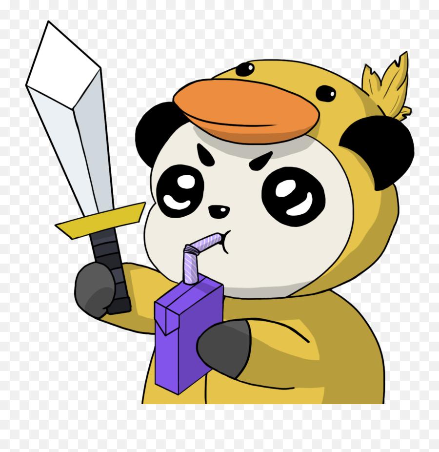 Download Giant Emoji Panda Red Discord Free Hq Image Hq Png - Discord Emoji