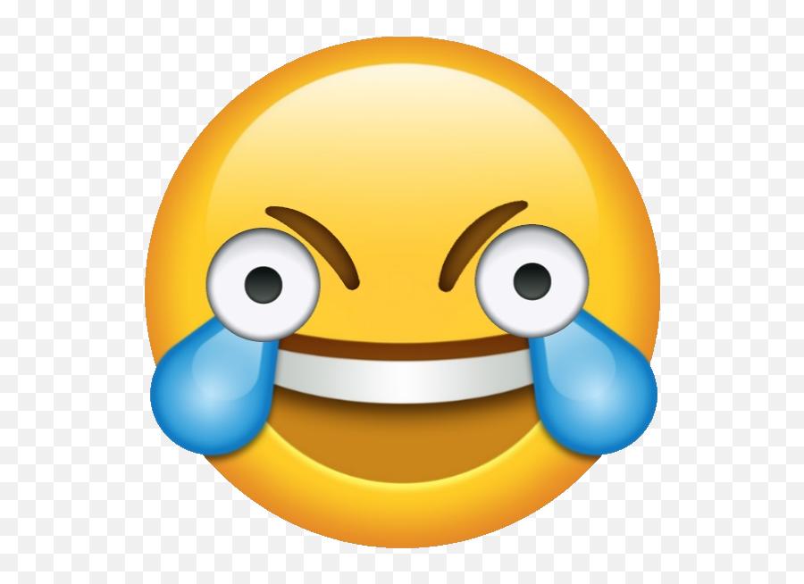 Pensive Cowboy - Open Eye Crying Laughing Emoji,Pensive Emoji