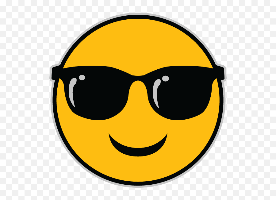 The Sunglasses Emoji - Sunglasses Emoji Png