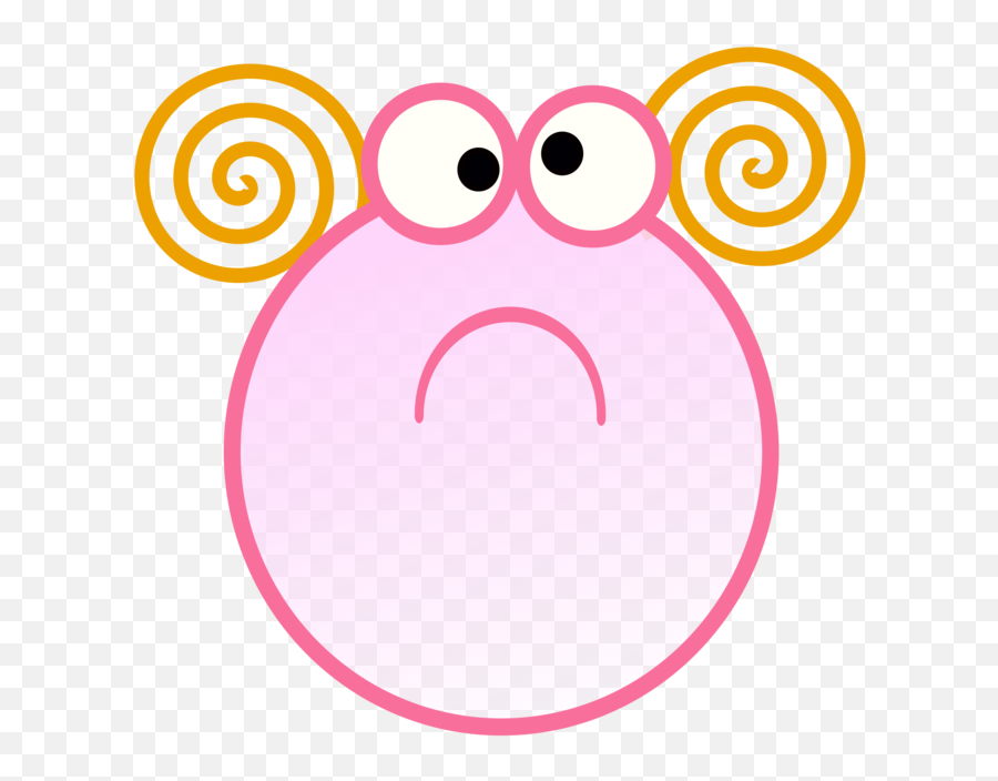 Pink Emoticon Area Png Clipart - Potato Emoji