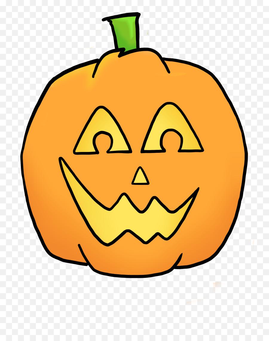 Jack O Lantern Jack Lantern Clipart Image Friendly Looking - Clipart Happy Jack O Lantern Emoji,Emoji Pumpkin