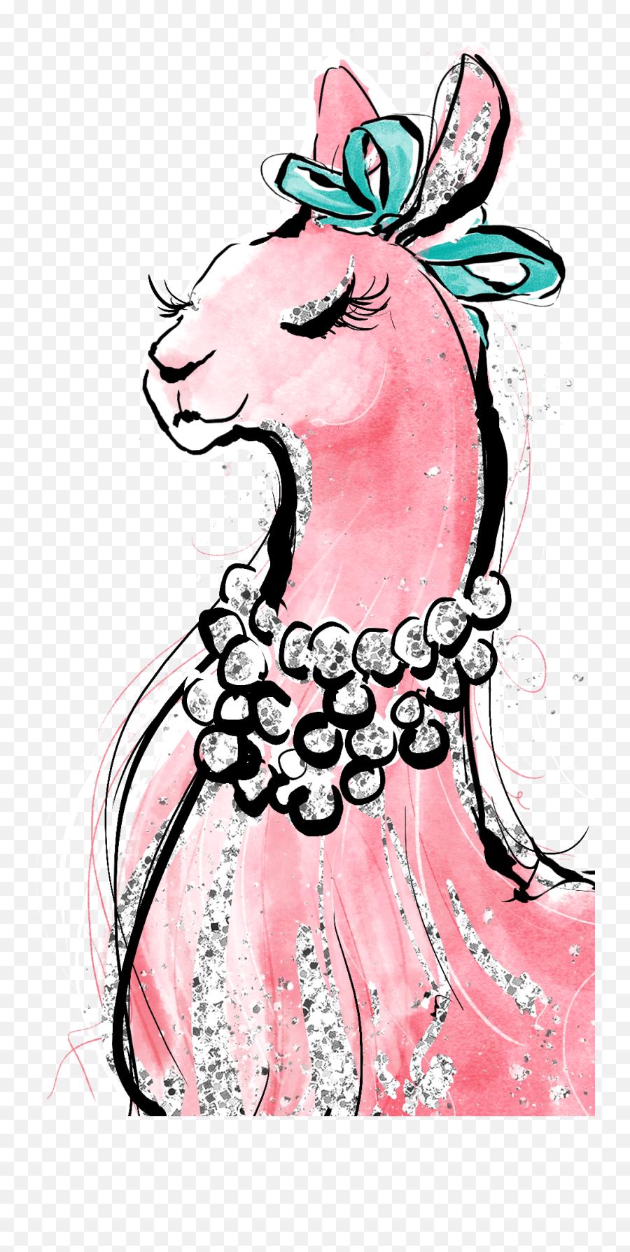 Lady - Cartoon Emoji,Llama Emoji Iphone