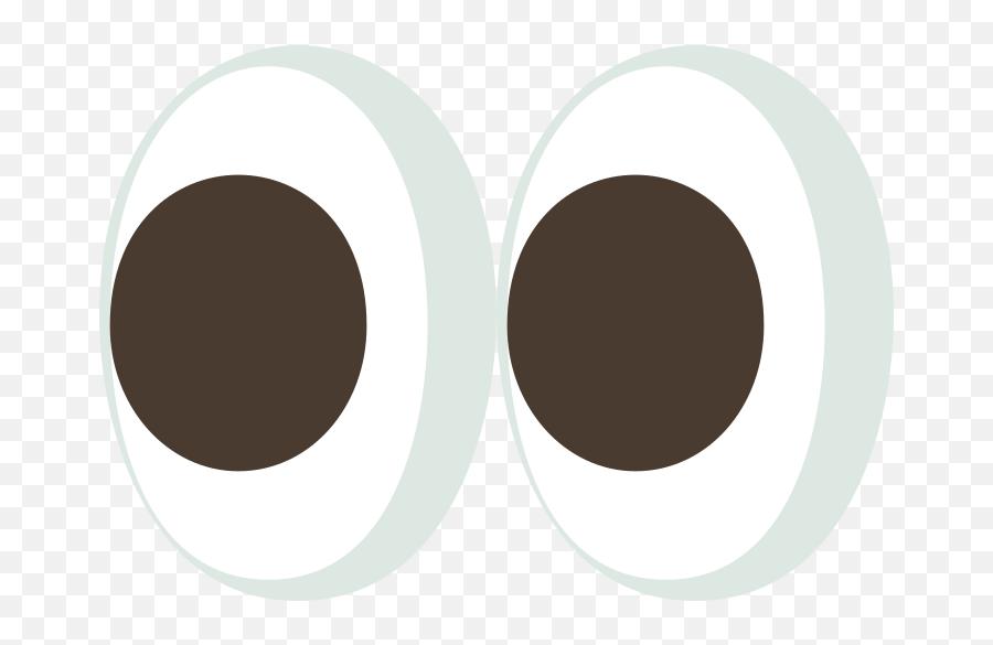 Emojione 1f440 - Emoji De Ojo Png