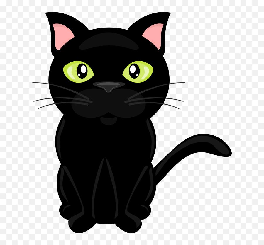 Black Cat Cat Clipart Library Stock Clear Background Rr - Cat Clipart No Background Emoji,Black Cat Emoji