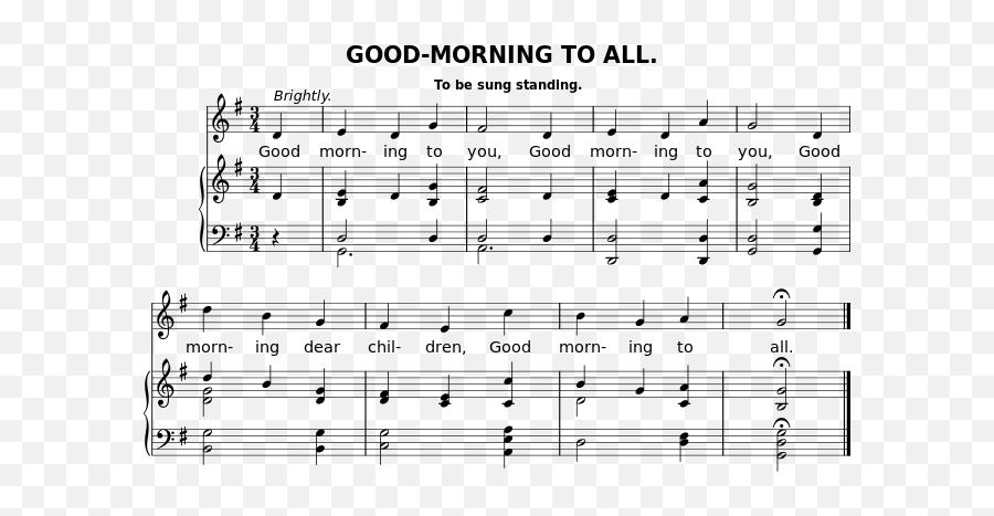 Goodmorningtoall - Happy Birthday Sheet Organ Emoji