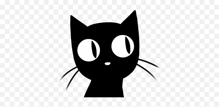 Pin - Animated Black Cat Gif Emoji,Black Cat Emoji