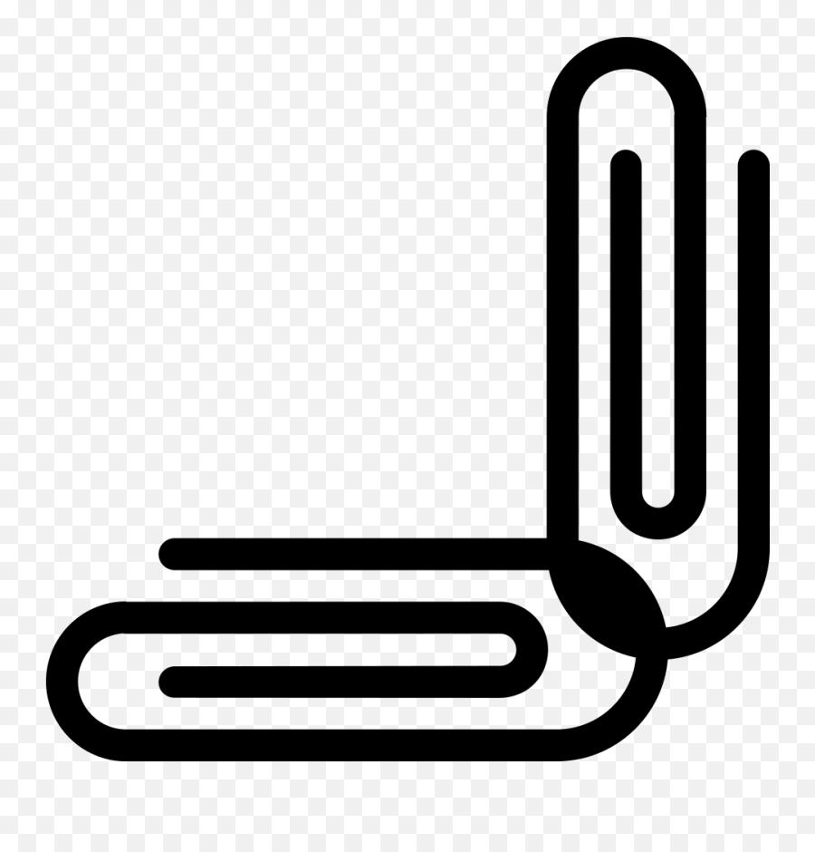 Emojione Bw 1f587 - Clip Art Emoji,Trombone Emoji