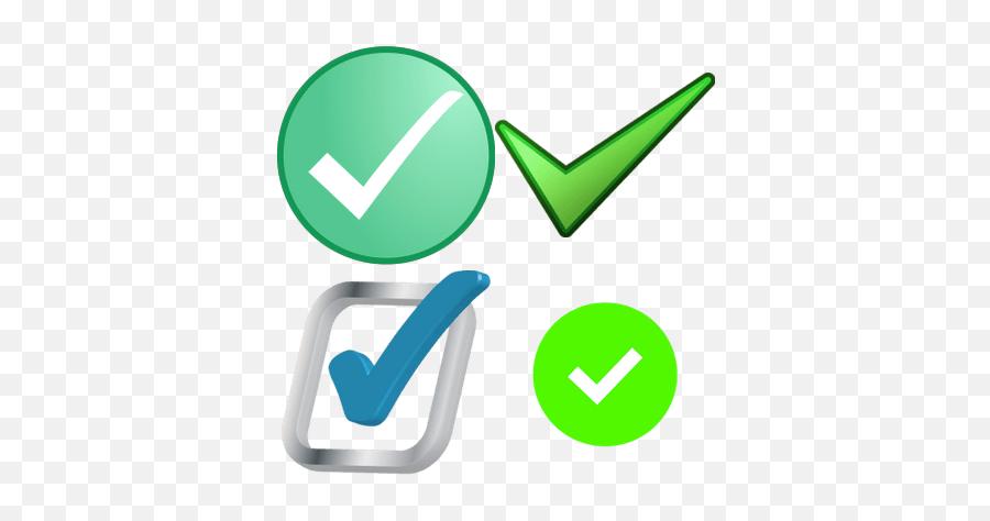 Check Signs Transparent Png Images - Clip Art Emoji