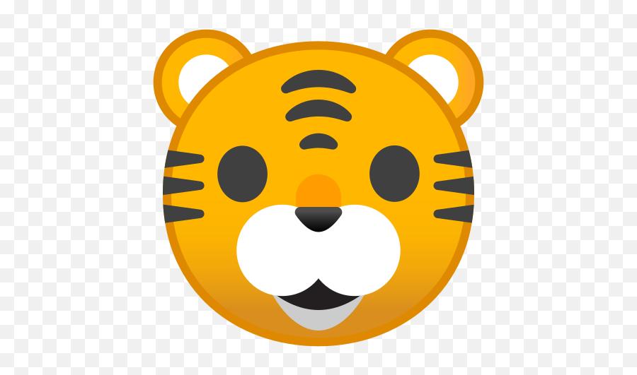 Tiger Face Emoji - Tigre Emoji,Tiger Emoji