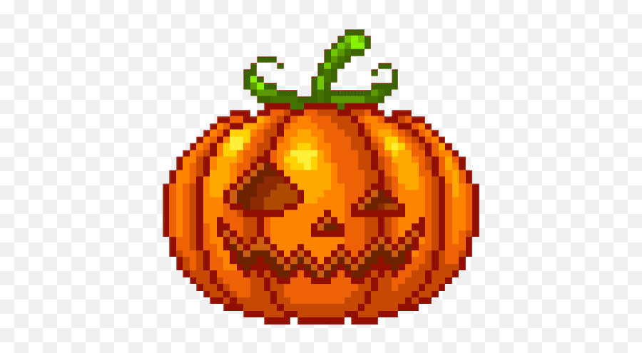 Top Peanut Butter Pumpkins Stickers For Android Ios - Pixel Art Terraria King Slime Emoji,Emoji Pumpkin
