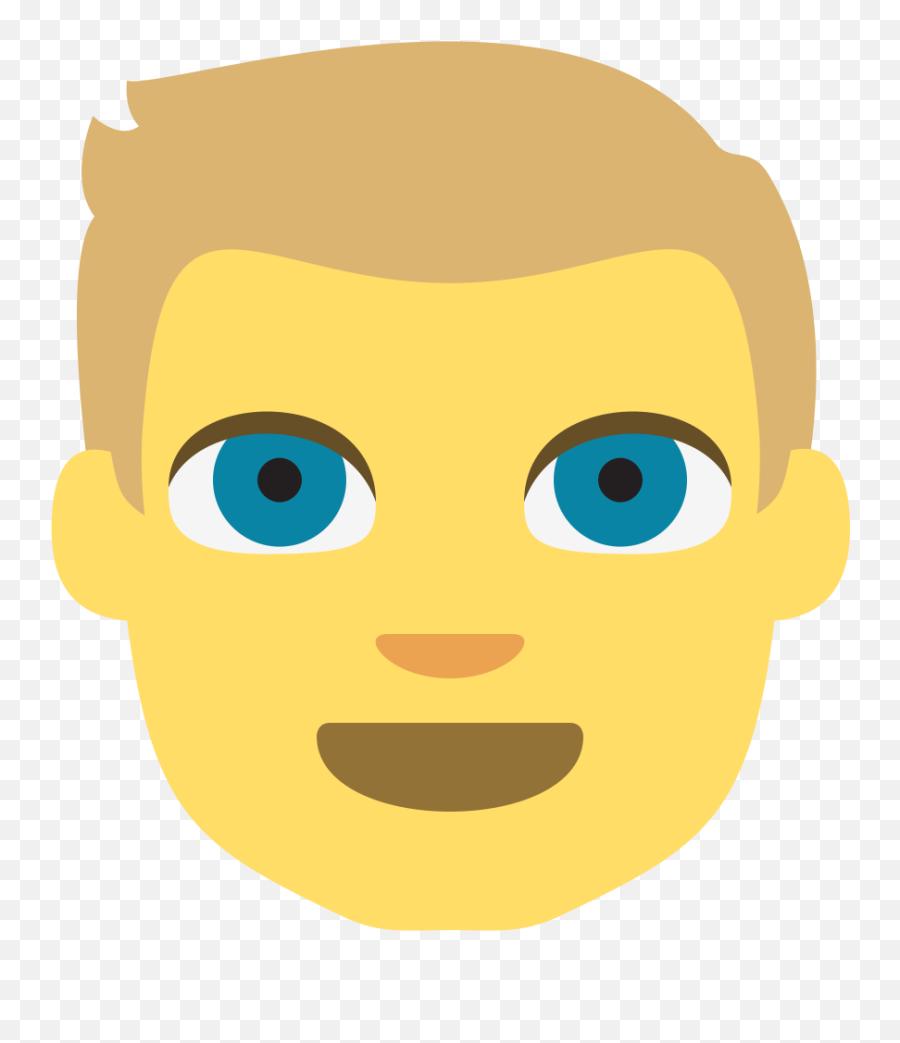 Emojione 1f471 - Emoji Hair