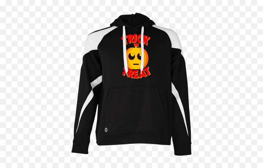 Buy Trick Or Treat Eye Rolling Emoji Pumpkin T - Hoodie,Emoji Pumpkin