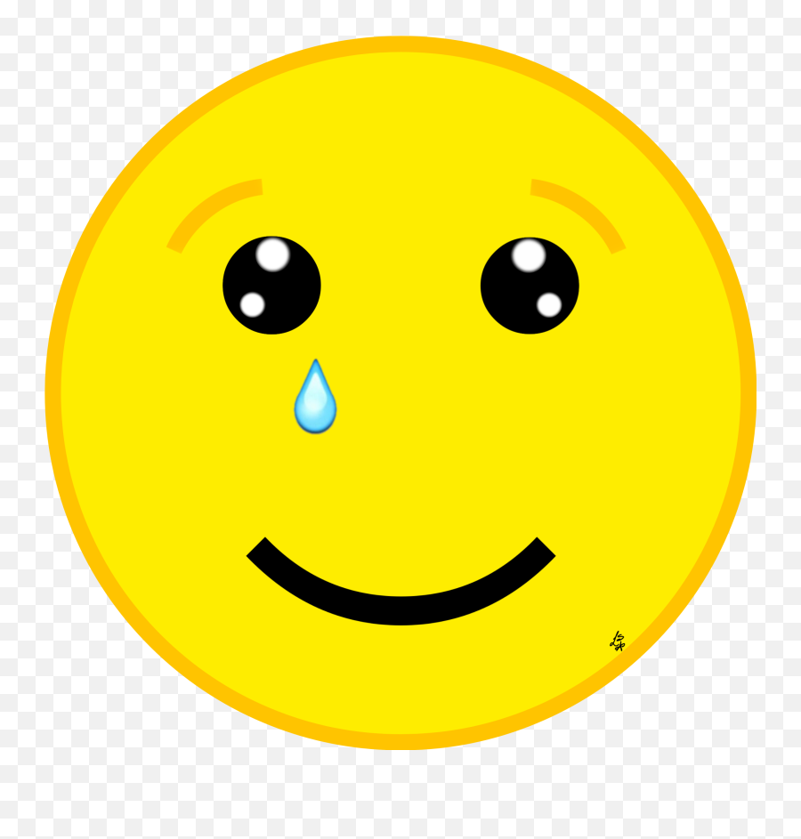 cry tear eyes smile emotions moving Sticker by Argi - Smile One Eyes Close Emoji