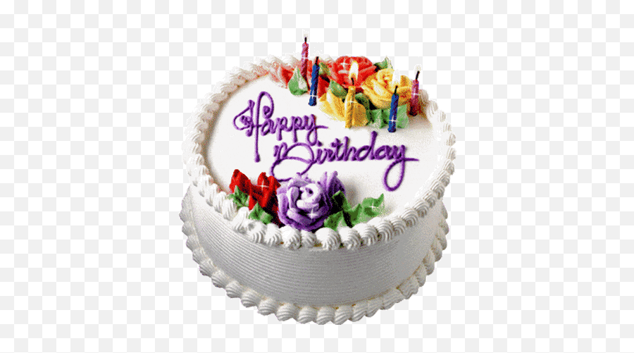 Top Cake Stickers For Android Ios - Happy Birthday Cake Animated Gif Emoji