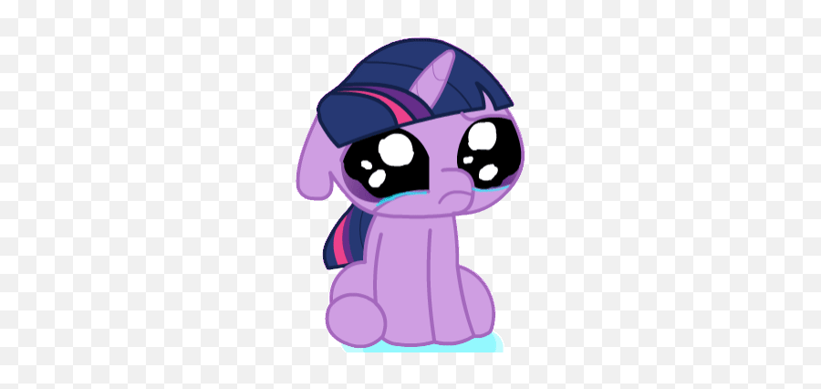 Crying Man Stickers For Android Ios - Twilight Sparkle Crying Gif Emoji,Tearful Emoji