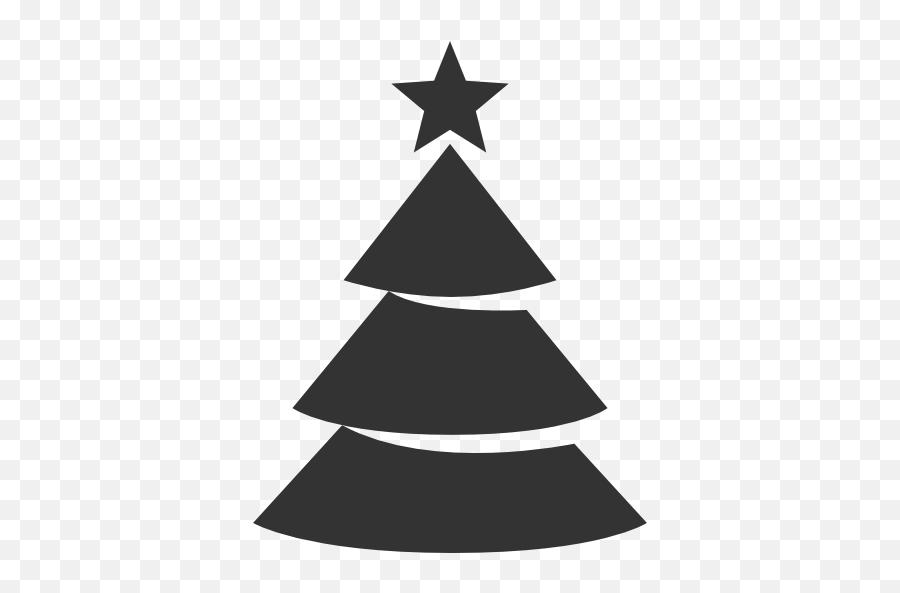Christmas Tree Icon Free Download As - Black Christmas Tree Png Emoji,Christmas Tree Emoticon