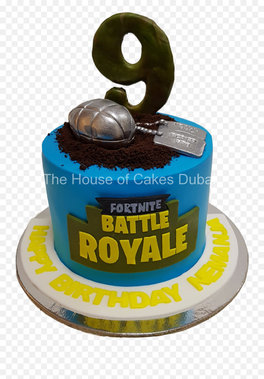 Fortnite Cake 1 - Birthday Cake Emoji