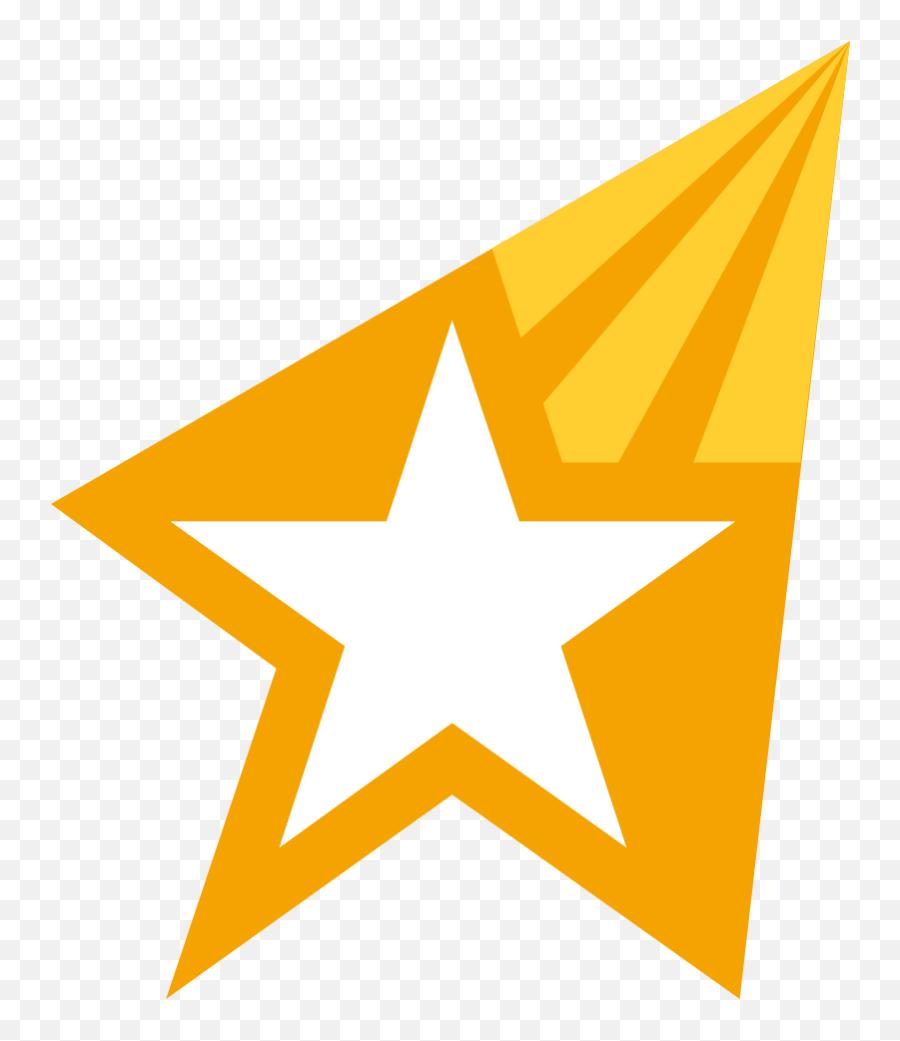 Emojione 1f320 - Outline Image Of Star Emoji