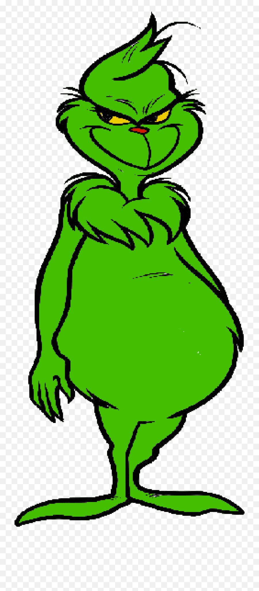 Grinch Heart Jpg Library Png Files - Grinch Clipart Emoji