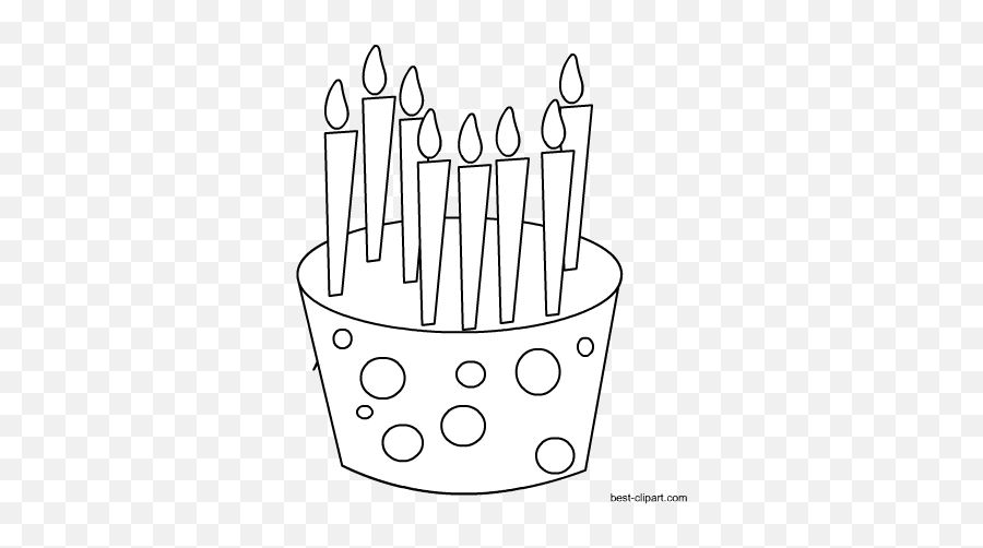 Free Cake And Cupcake Clip Art - Birthday Emoji,Emoji Birthday Cakes