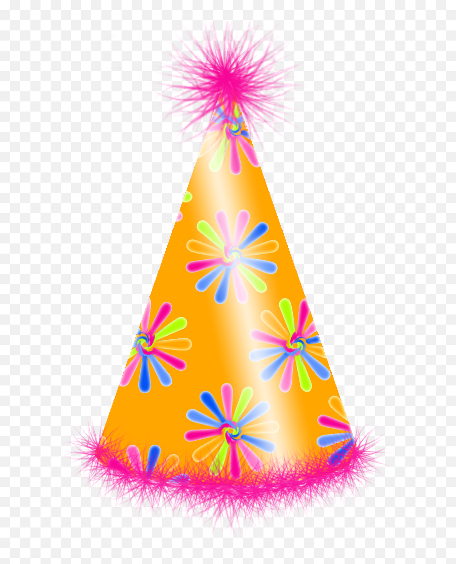 Png Birthday Hat Clipart Best - Party Hats No Background Emoji