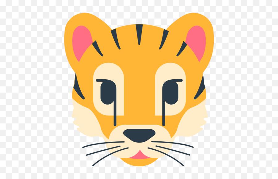 Tiger Face Emoji - Emoji Tiger Face On Mozilla,Tiger Emoji